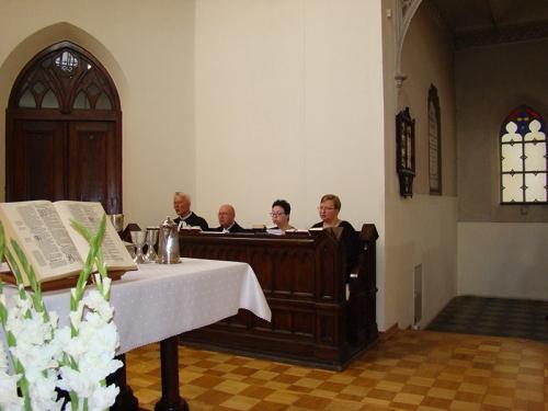 Wprowadzenie w służbę kaznodziei świeckiego Marty Borkowskiej 23-07-2017